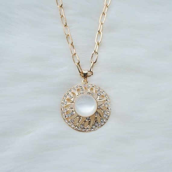 19 best big pendant necklace images on pinterest drop necklace circular white jade sun pendant necklacebig pendant necklacelong necklacerhinestone sun mozeypictures Images