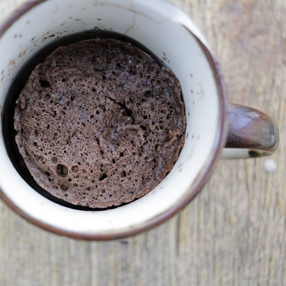 How to Make Gluten-Free Chocolate Mug Cake- serve with your favorite topping and enjoy :)
