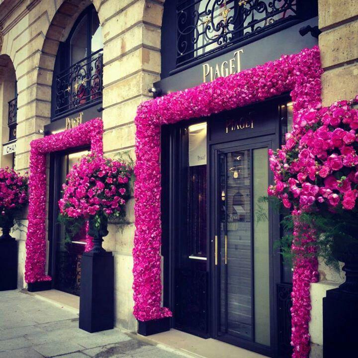 Roses at Piaget, Paris