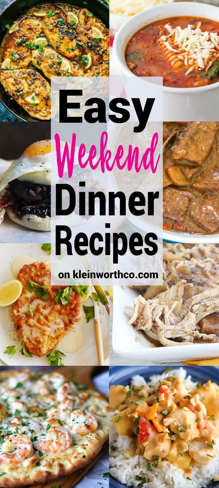 201 best quick easy dinners images on pinterest for Quick and delicious dinner recipes