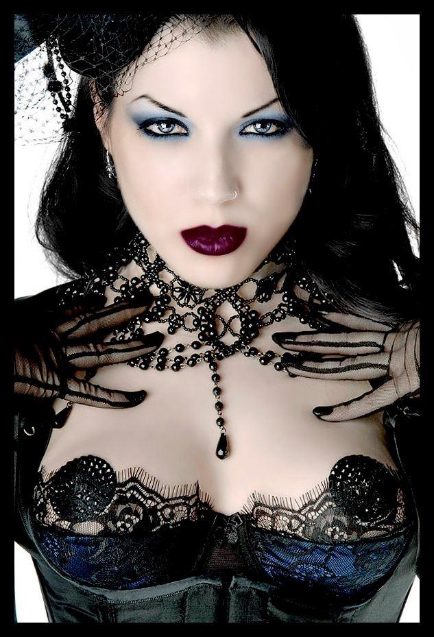 Goth girl creampie