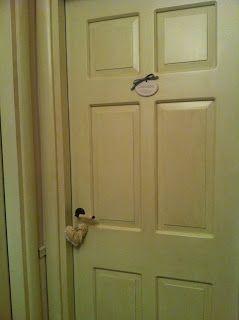 door shabby