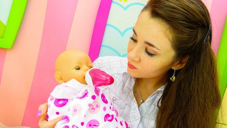Видео для детей и Ролевые игры одевалки для девочек с куклой БЕБИ БОН: Э...