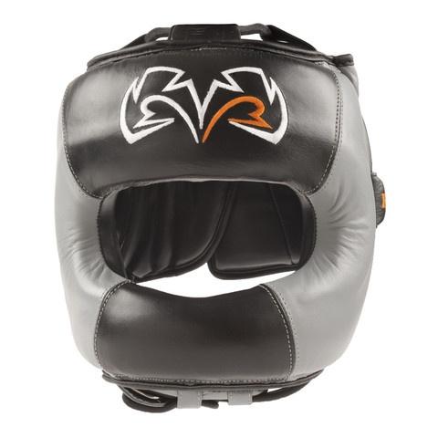 Rival RHGFS1 Face Saver headgear. Black & Grey version