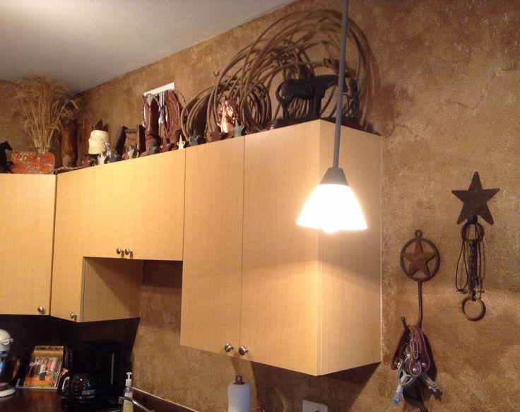 My Cowboy Themed Western Kitchen