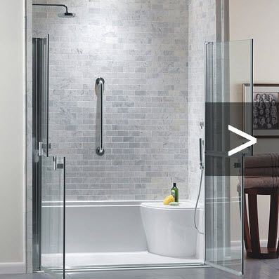 An accessible bathroom doesn't have to look like a hospital.  Use Universal Design to update with style.