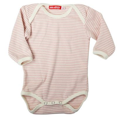 Organic cotton  Long sleeved baby bodysuit  NZ$29.90