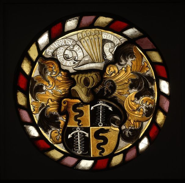 Stained glass roundel, Germany, 1535. l Victoria and Albert Museum