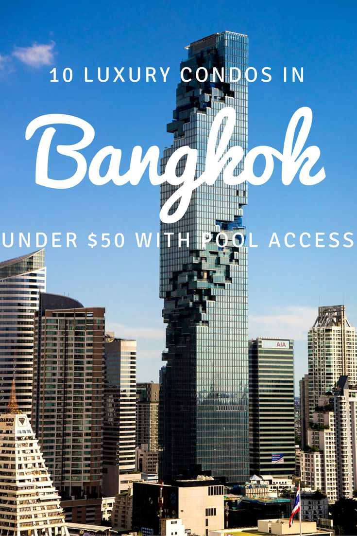 10 luxury condos in bangkok under 50 with gym and pool