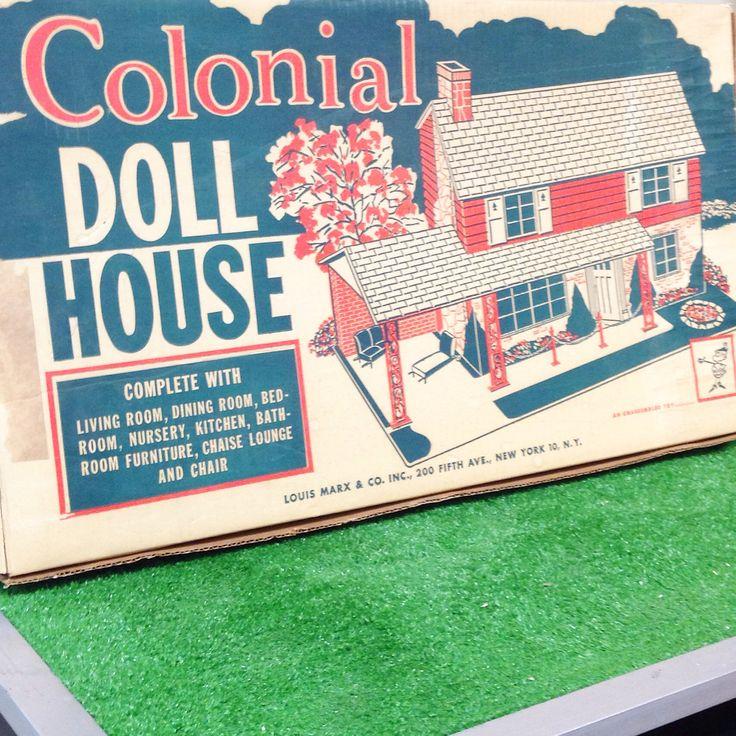 Dfw Furniture Columbus Ohio: 52 Best Marx Tin Litho Dollhouses Images On Pinterest