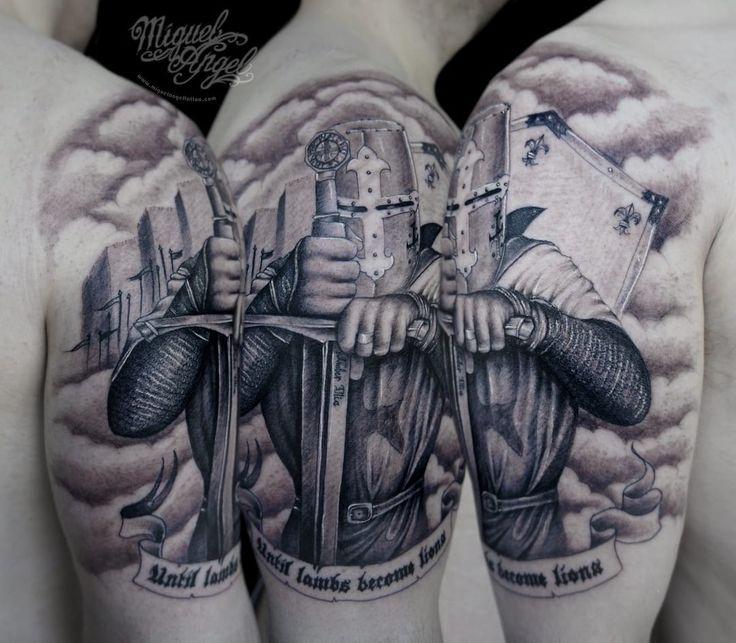 1000+ Ideas About Knight Tattoo On Pinterest