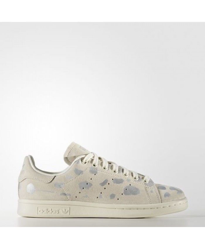 Womens Adidas Stan Smith Off White Off White Silver Met. S32264