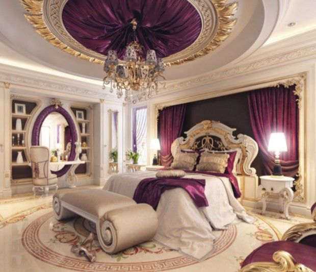 lüks yatak odası dekorasyon modelleri