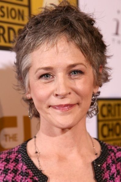 Melissa McBride..pretty AND great actor
