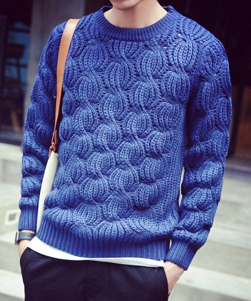 A fresh and effective take on a cable sweater - James Cox Knits