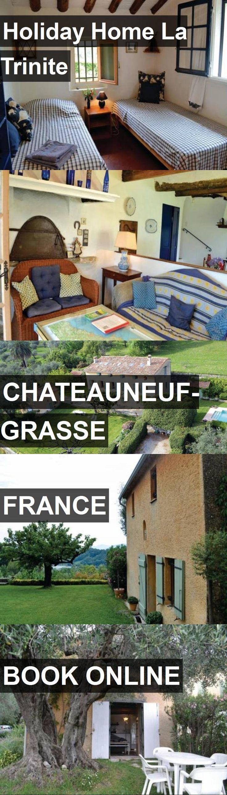 Hotel Holiday Home La Trinite in Chateauneuf-Grasse, France. For more information, photos, reviews and best prices please follow the link. #France #Chateauneuf-Grasse #travel #vacation #hotel