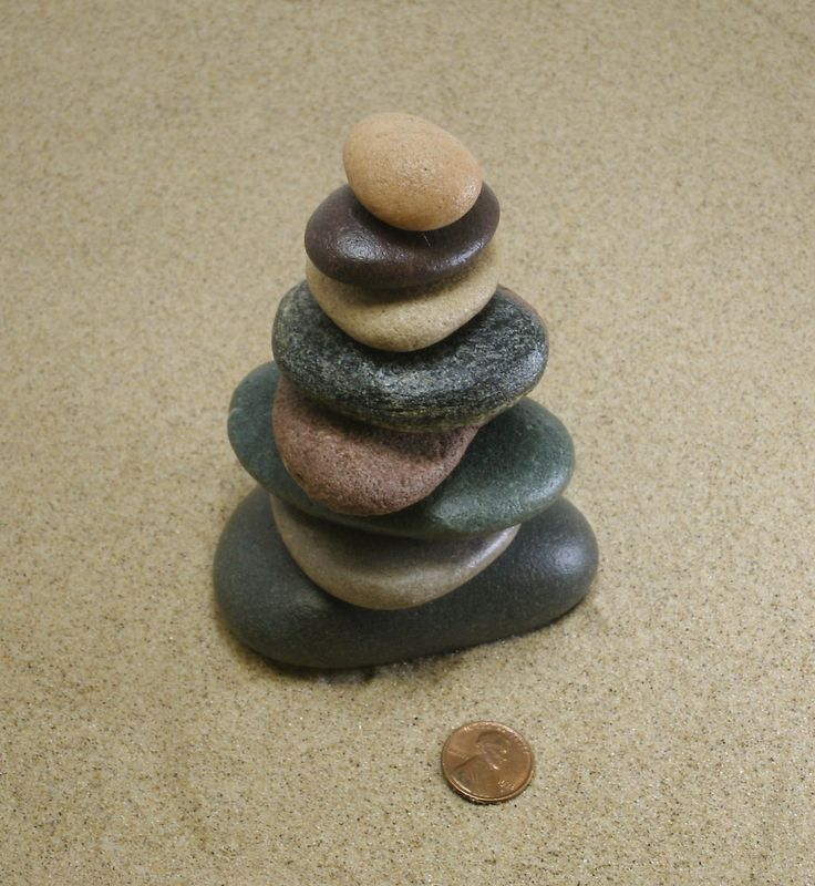 Pure Michigan Beach Stone Cairn #338, Stacked Stones, Unique Stone Gift, Nature Inspired Art, Beach Art, Cottage Decor, Michigan Gift by StoneCairns on Etsy