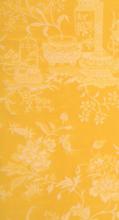 Scalamandre wallpaper - Treasures of a Chinese Scholar damask