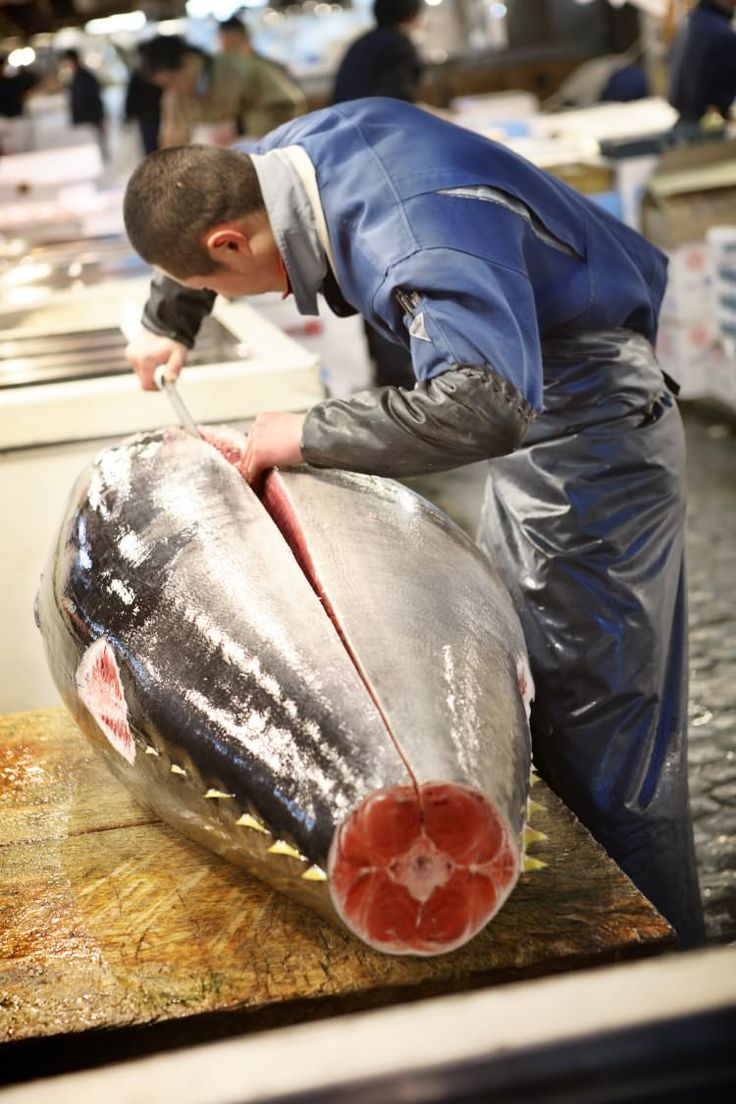 <p>Fruit, vegetables, flowers and meat are also sold here, but it's seafood – around 2000 tonnes of it traded daily – that Tsukiji is most famous...