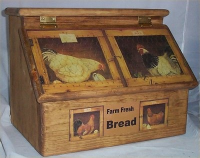 Chicken bread box