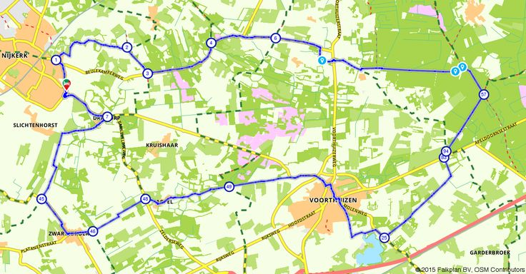 Nijkerk (Gelderland, Nederland) | Fietsroute 119692 | 35,80 km | Nijkerk, Zwartebroek en Voorthuizen | Fietsen in Nijkerk | https://www.route.nl/fietsroute/119692/nijkerk-zwartebroek-en-voorthuizen. Elke dag nieuwe routes!