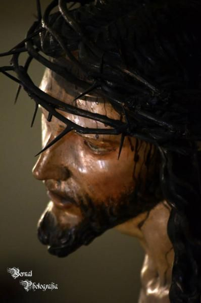 Cristo de la Sangre. Cuaresma 2014 Foto Carlos Bernal Herenas