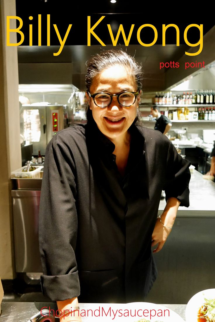 Kylie Kwong is like a Leonard Bernstein in her restaurant kitchen,  orchestrating a team of chefs whose food play beautiful music on my palate