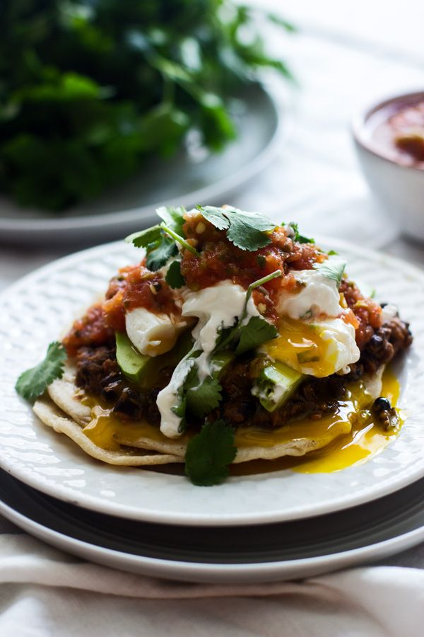 Check out Mexican Breakfast Tostadas with Chorizo Re-fried ...