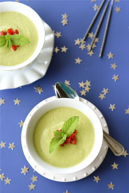 Chilled California Avocado Soup with Coconut Milk from @Mrs.Miller' Canuck Dara Michalski