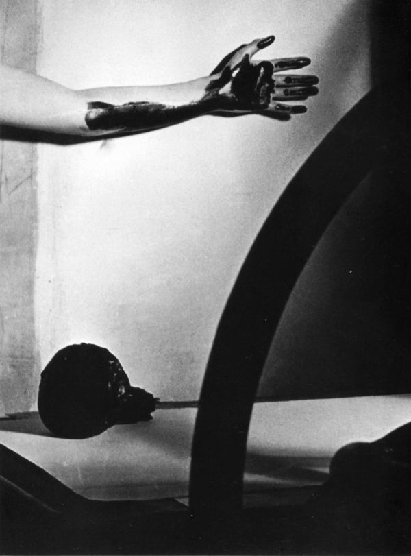 man ray - meret oppenheim, arm with ink, 1933