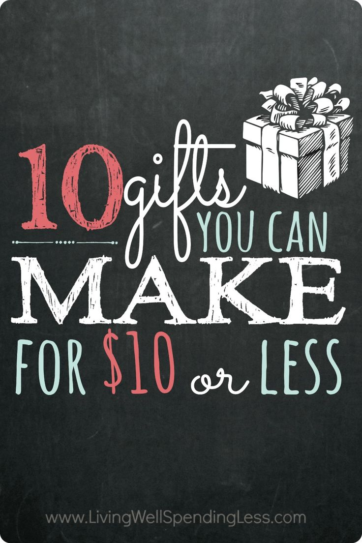10 Gifts You Can Make for Less Than $10 | Inexpensive Homemade Gift Ideas