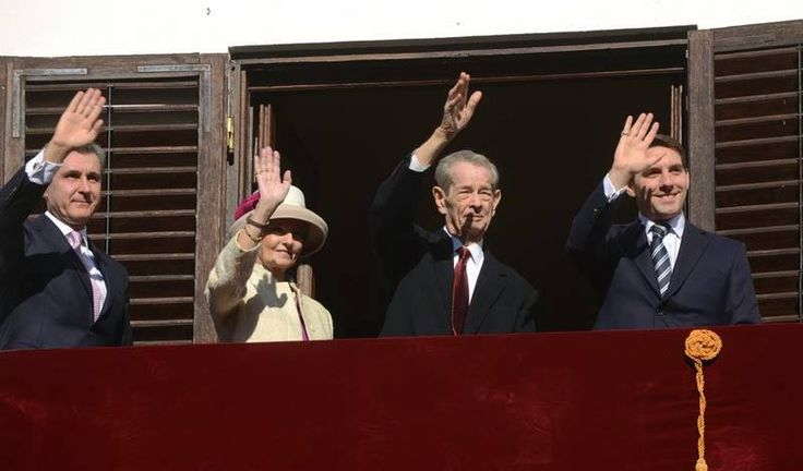 Romanian Royal Family - Open Day at the Palace (King Michael's 92nd birthday)