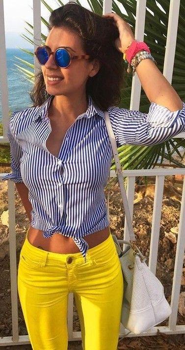 Stripes + Yellow                                                                             Source