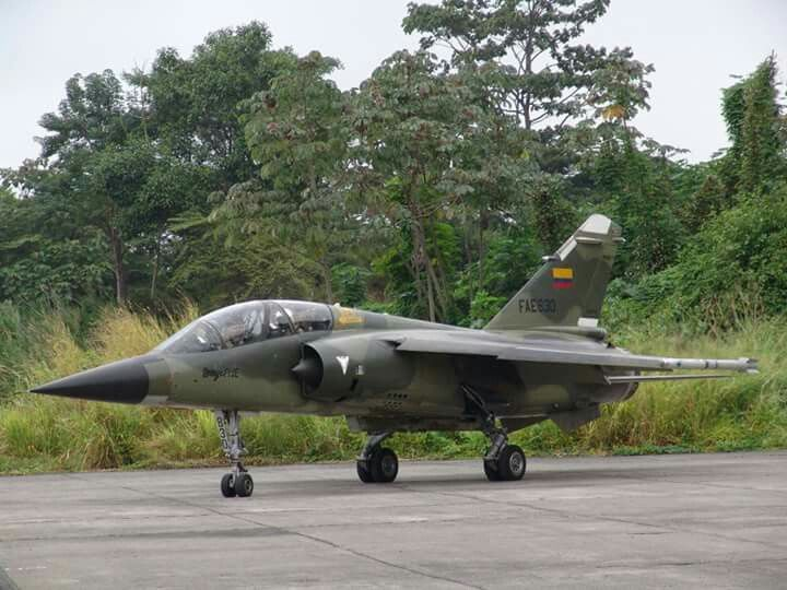 Mirage F1JE  FAE 830 at Taura AFB