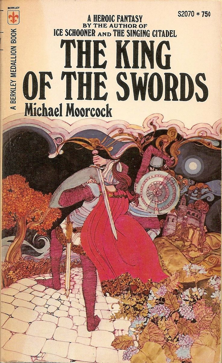 Book Cover Fantasy King : The king of swords michael moorcock cover by david