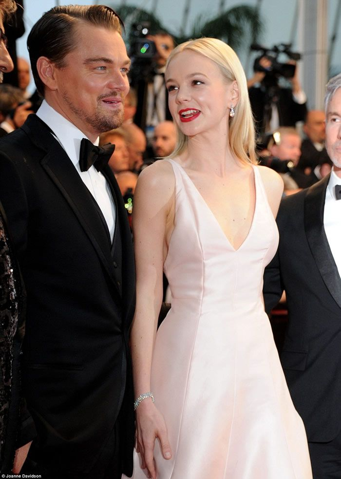 Leonoardo DiCaprio and Carey Mulligan on the 66th Annual Cannes 2013
