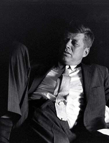 JFK!...What A Superb Candid Shot...