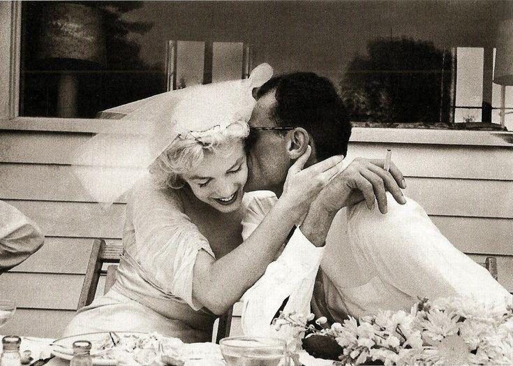 Marilyn Monroe& Arthur Miller1956