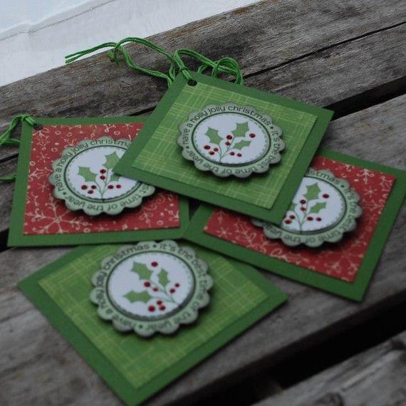 Beautiful gift tags for Christmas #3.50