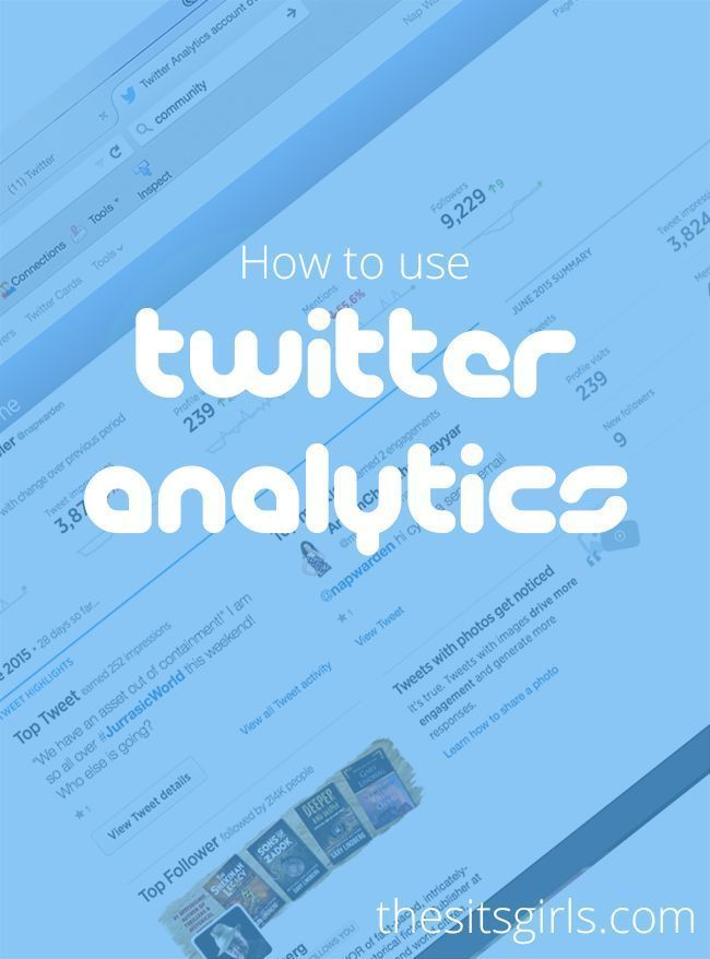 Twitter Tips   Social Media Tips   Learn how to use Twitter Analytics to grow your account. Find out what is really working for you on Twitter.