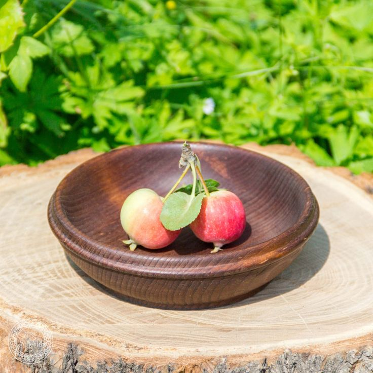 Bowl of Siberian Cedar wood plate for FOODSTUFF wooden BOWL Natural wood #T13 by…