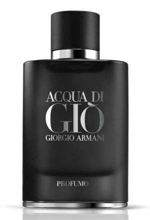 Armani presented its popular masculine aquatic fragrance Acqua di Gio in 1996. Nearly 20 years later, a new version of the fragrance is launched—Acqua di Gio Profumo. Acqua di Gio Profumo is an aquatic, aromatic, woody and spicy composition which is, like the original, signed by Alberto Morillas. It opens with fresh aquatic accord and bergamot. Its heart captures aromatic tones of geranium, sage and rosemary, laid on the base of patchouli and incense-2015.