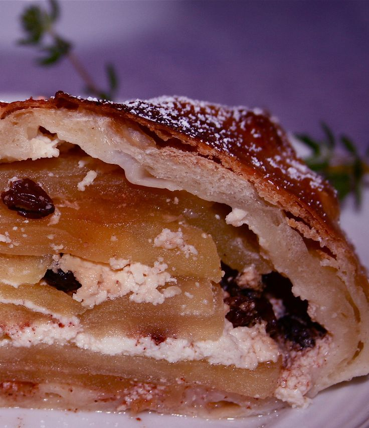 Apple Strudel | Apples | Pinterest