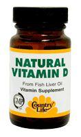 Natural Vitamin D - Discount Country Life Natural Vitamin D