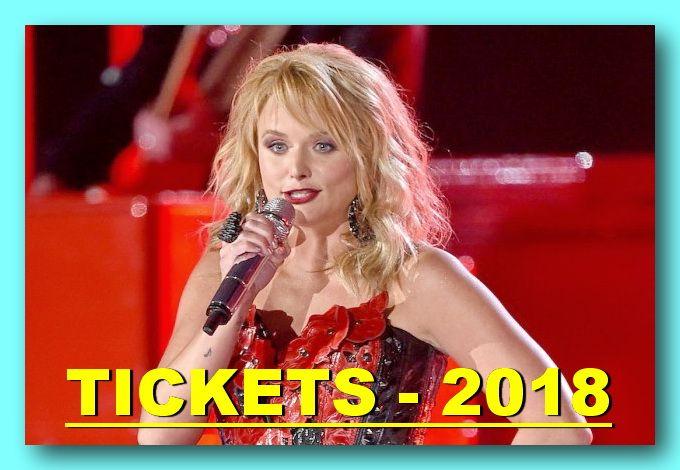 Miranda Lambert - Tour 2018 - The easiest way to buy concert tickets (seller – SeatGeek). Tickets & Tour dates