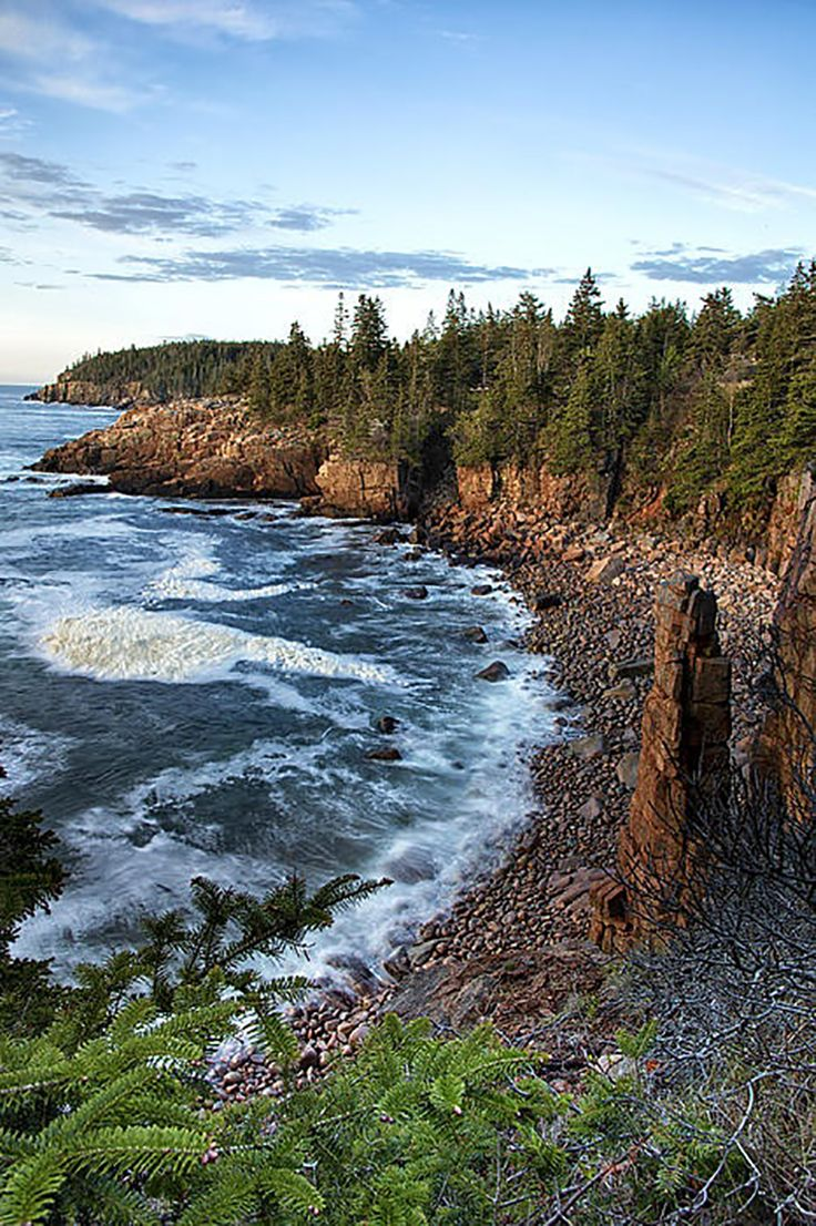 """Acadia National Park, Maine - In The Pine Tree State, located on Mount Desert Island, is the Acadia National Park. Many of the US campers will say that Acadia is """"the campers paradise""""."""