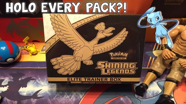 HOLO EVERY PACK?! - Opening A Shining Legends Elite Trainer Box!
