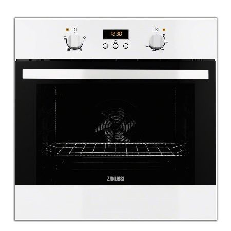Zanussi ZOB35301WK 600mm Built-in Single Electric Oven White http://www.MightGet.com/january-2017-13/zanussi-zob35301wk.asp
