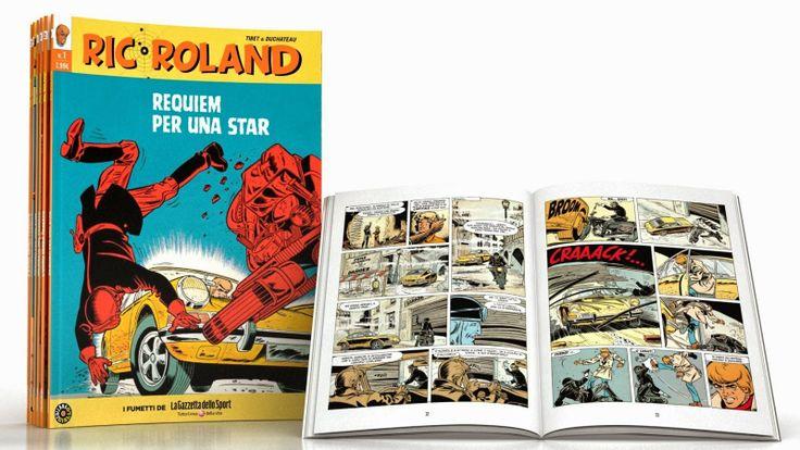 Comic-Soon: RIC ROLAND, IL FAMOSO BANDE DESINEE TORNA IN EDICO...