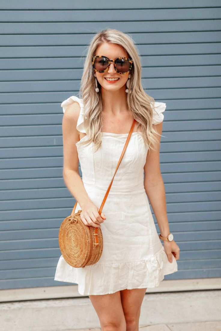 How to Style: A Summer Linen Dress by